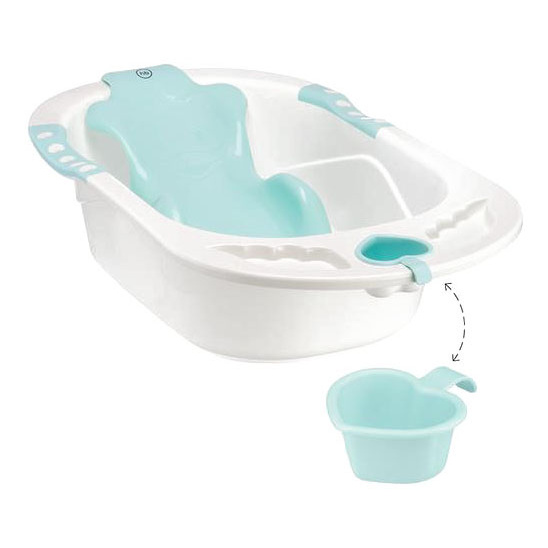 Купить Ванна детская Bath Comfort aquamarine Happy Baby,