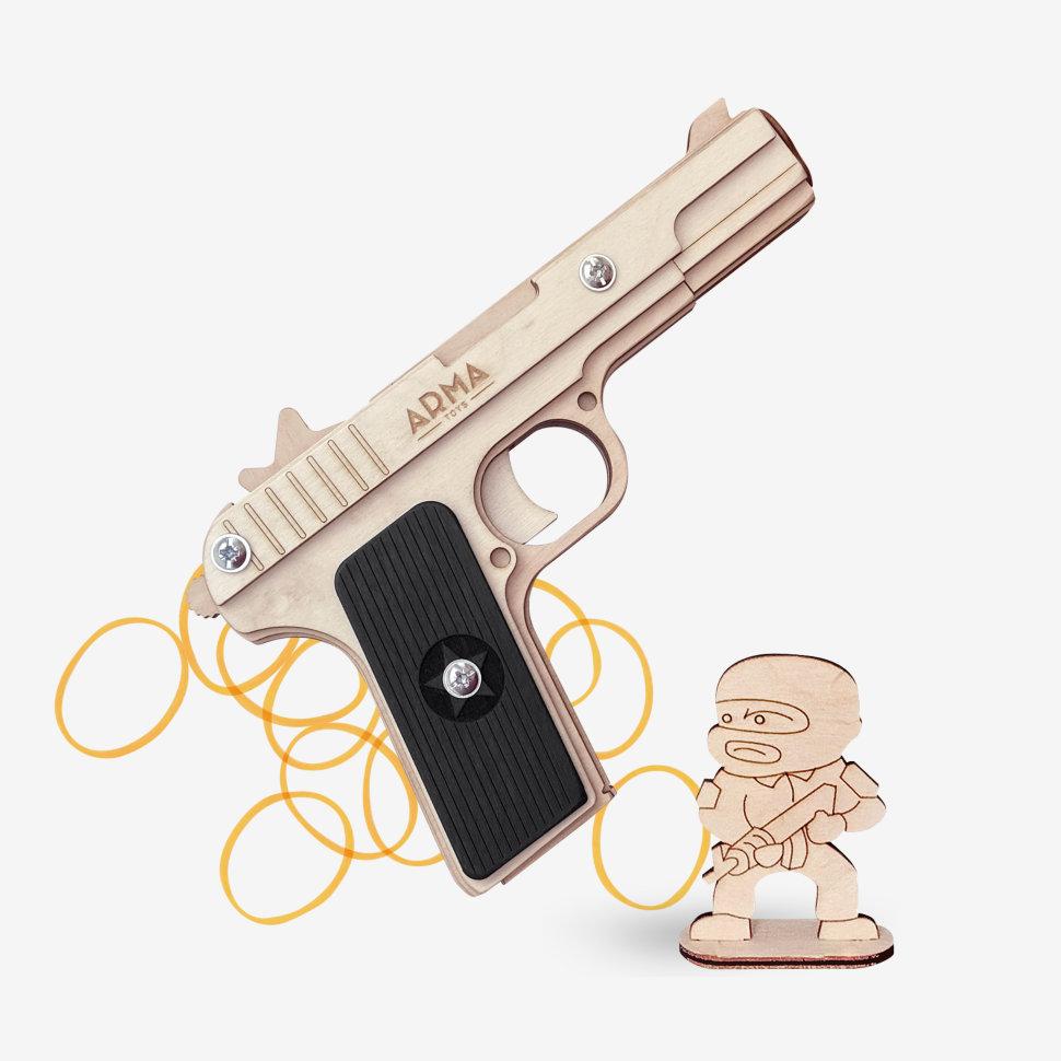 Резинкострел Arma.toys пистолет ТТ тульский Токарева