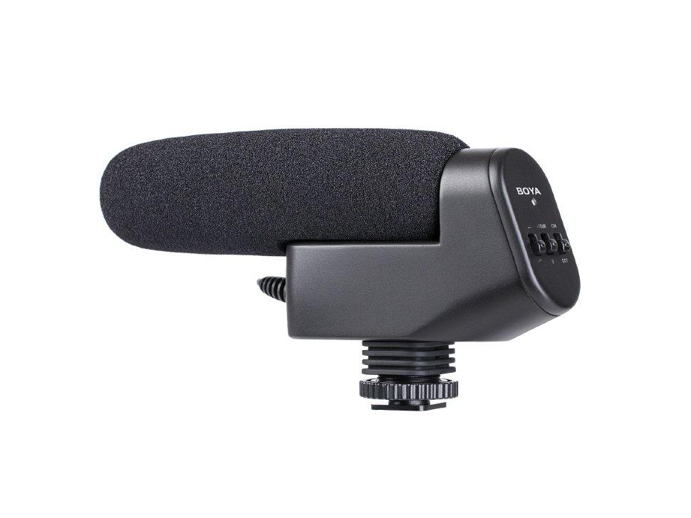 Микрофон Boya BY-VM600 Black