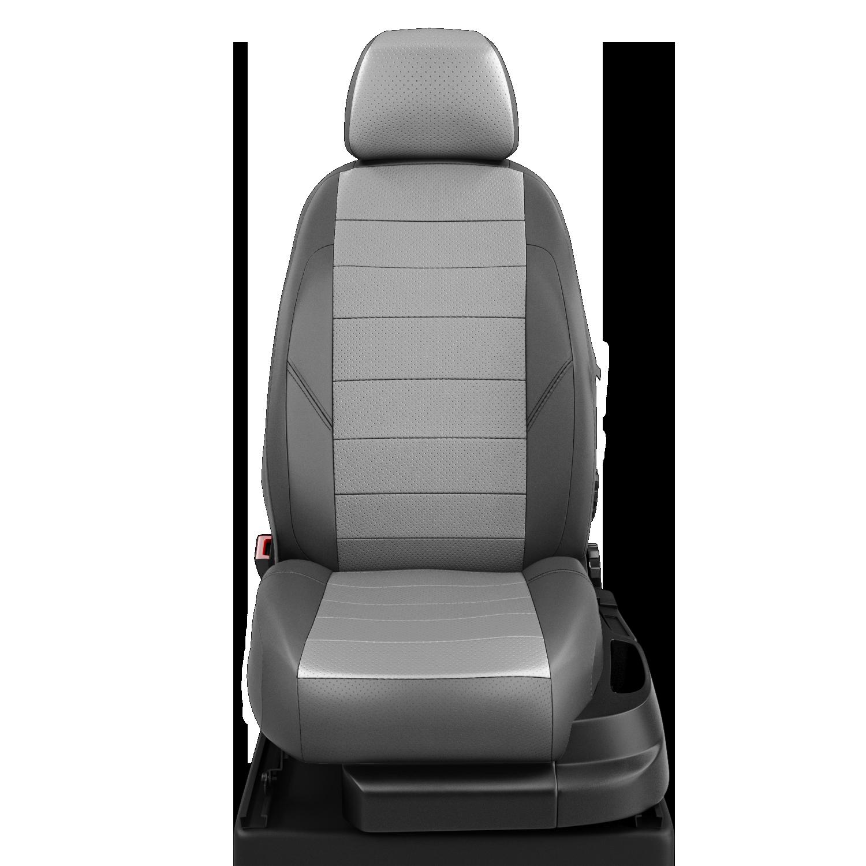 Авточехлы AVTOLIDER1 для Nissan X-trail (Ниссан Икстрейл) с 2001-2007г. джип