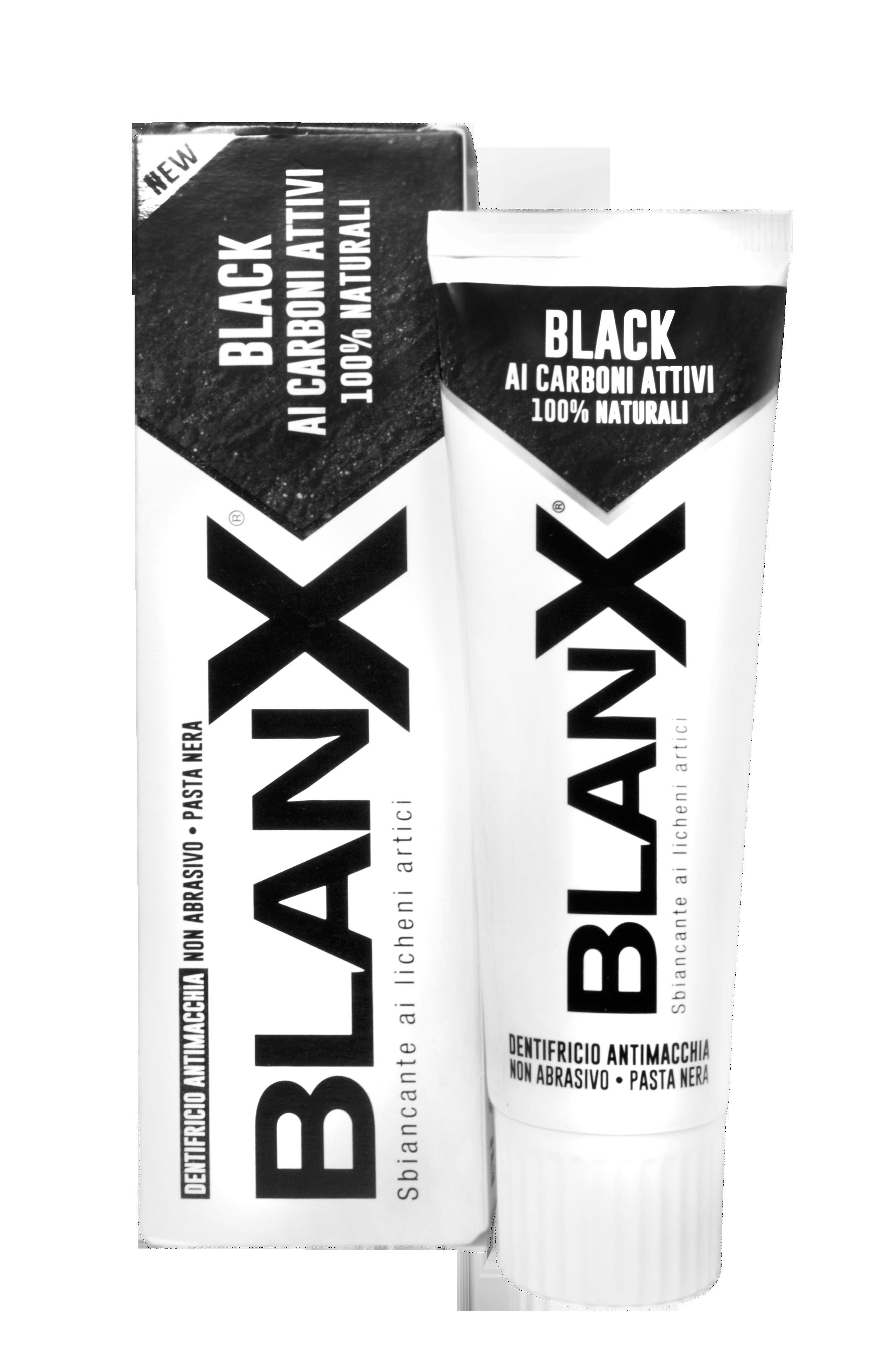 BlanX Black Charcoal 75 ml  Отбеливающая