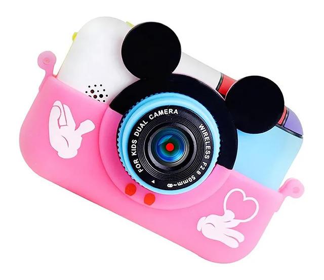 Купить Детский фотоаппарат с Wi Fi SmileZoom Микки розовый, NoBrand,