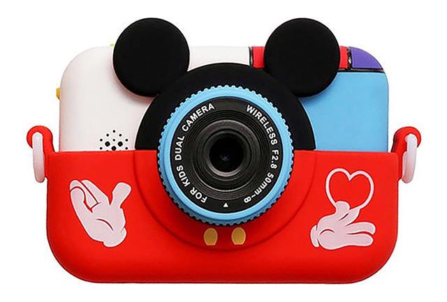 Купить Детский фотоаппарат с Wi Fi SmileZoom Микки красный, NoBrand,