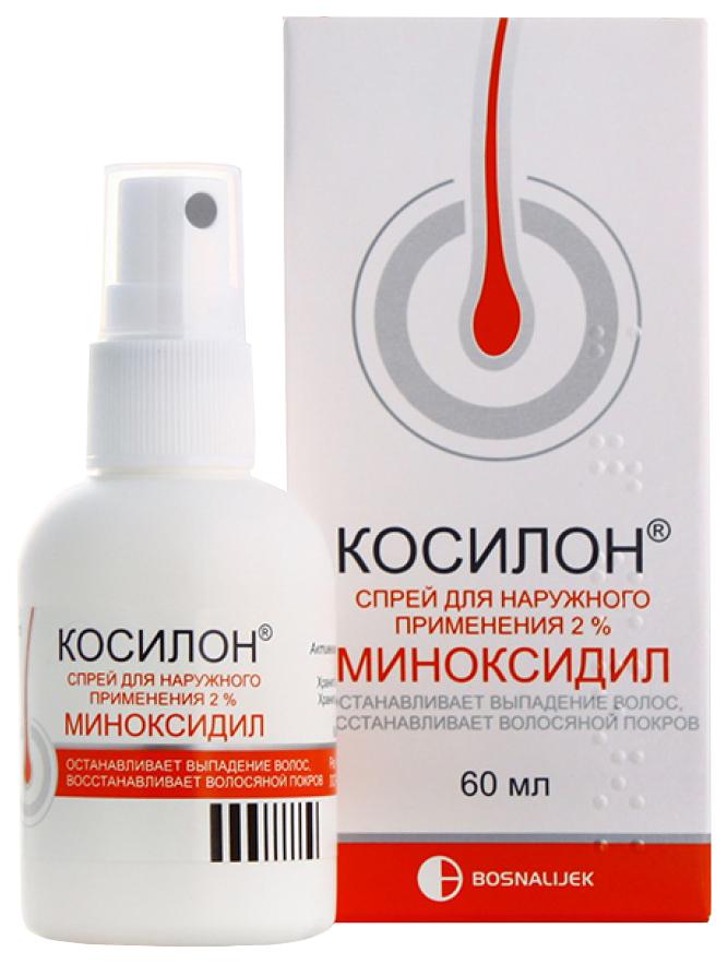 Косилон спрей для наружного применения 2% фл.с распылителем 60 мл