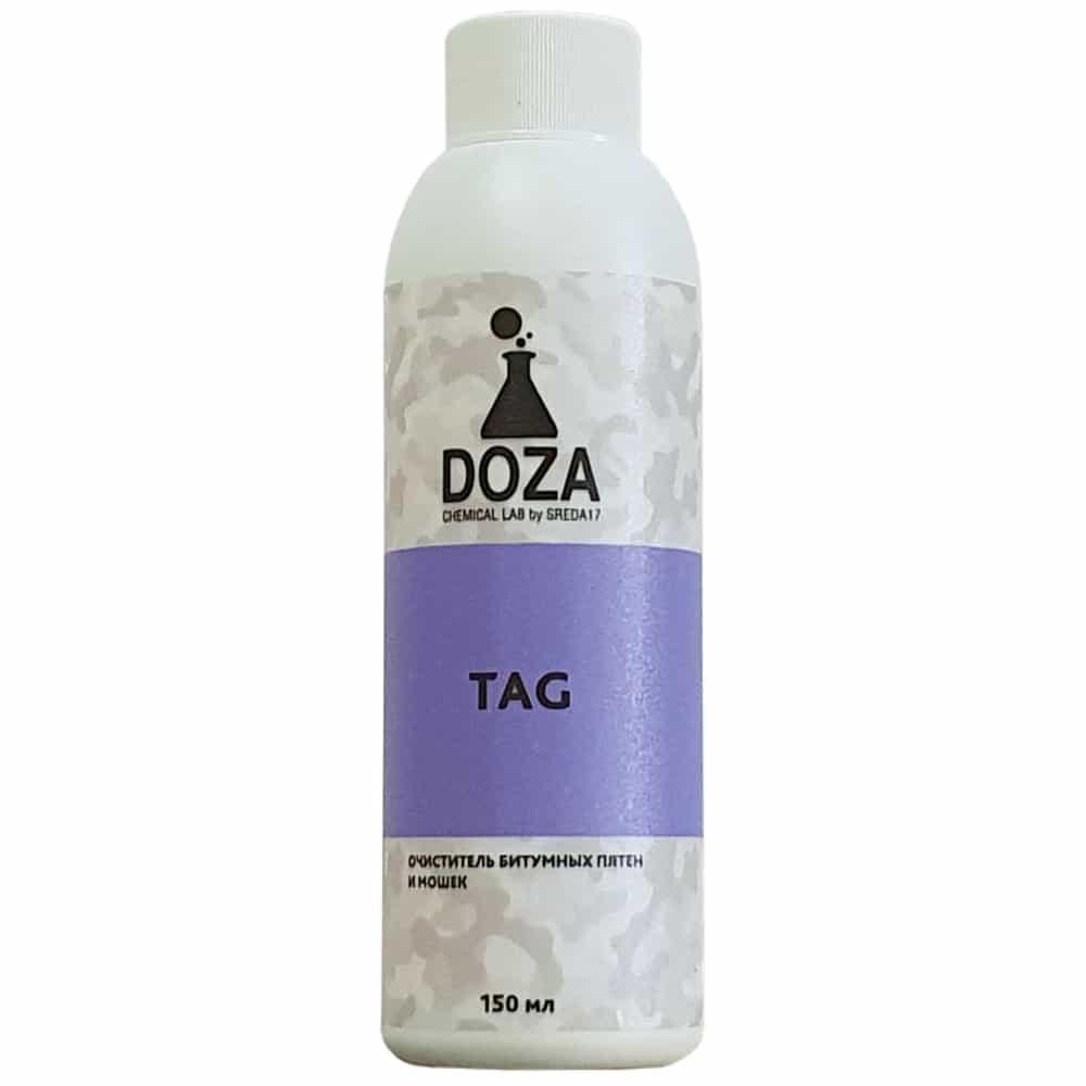 Очиститель смол, битумных пятен и мошек DOZA