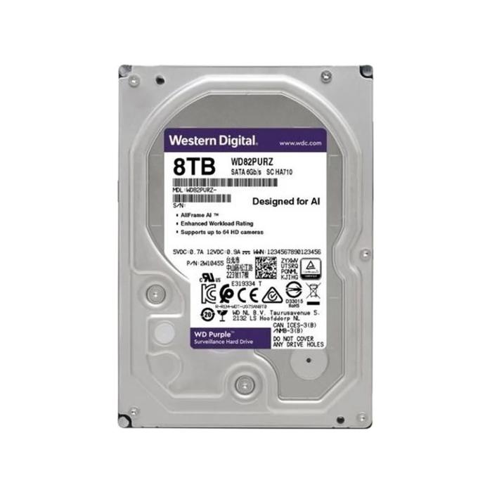 Внутренний жесткий диск Western Digital Purple 3.5