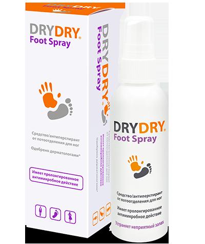 Дезодорант для ног Dry Dry Foot Spray