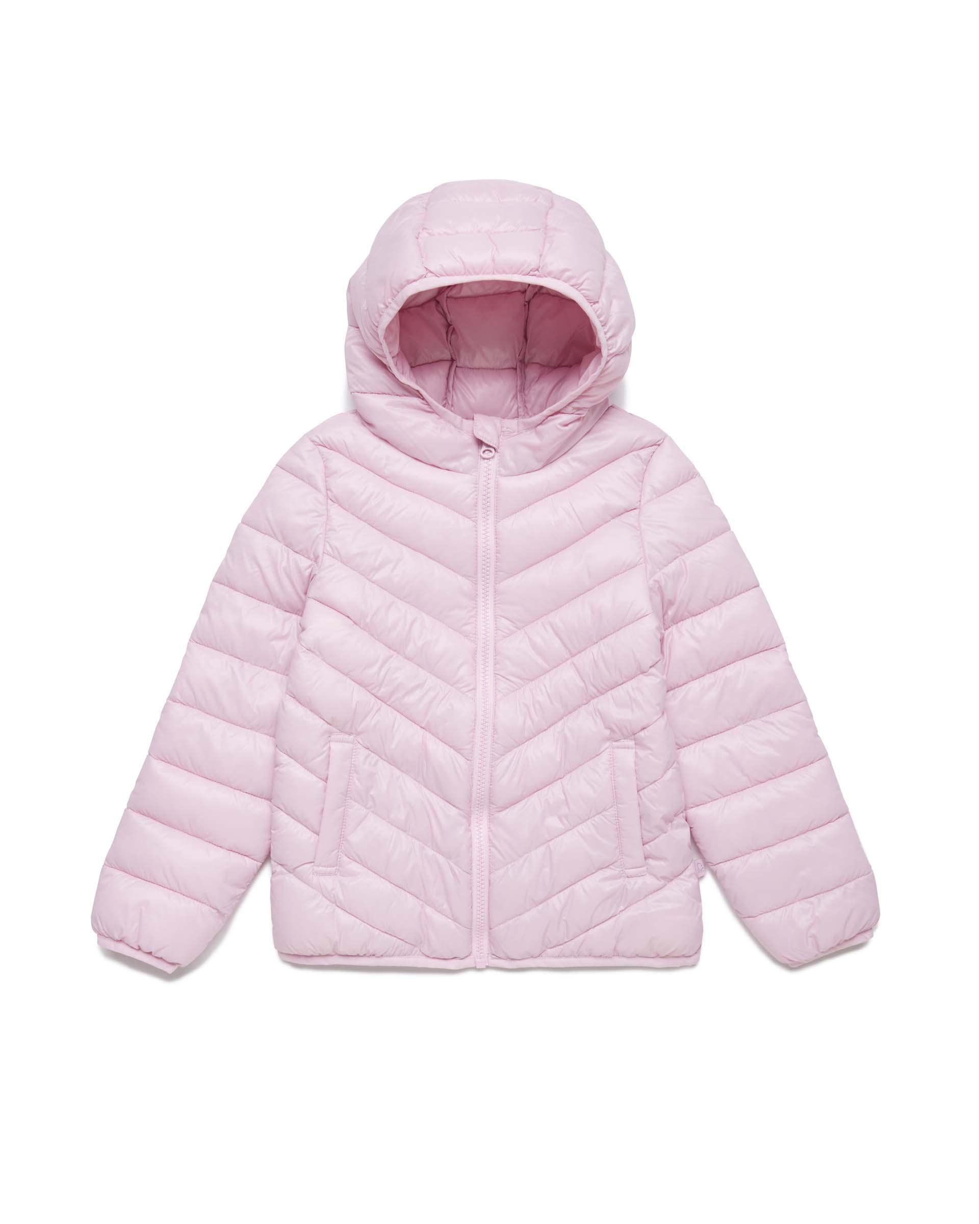 Купить 20P_2RQ453HQ0_07M, Укороченная куртка для девочек Benetton 2RQ453HQ0_07M р-р 140, United Colors of Benetton, Куртки для девочек