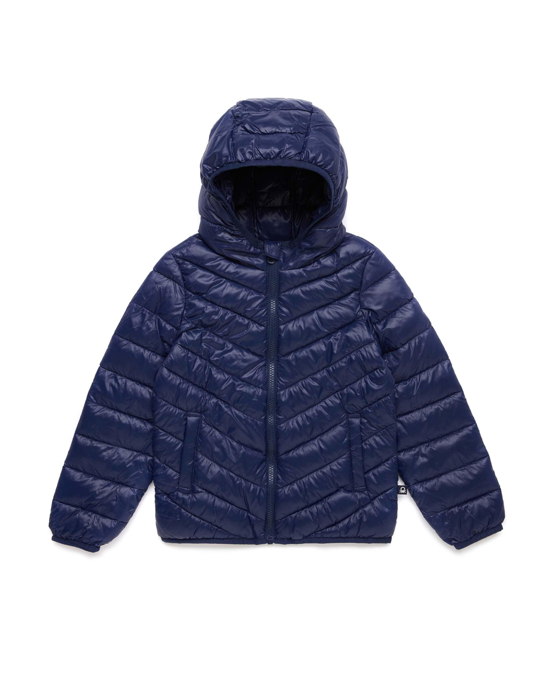 Купить 20P_2RQ453HQ0_252, Укороченная куртка для девочек Benetton 2RQ453HQ0_252 р-р 80, United Colors of Benetton, Куртки для девочек