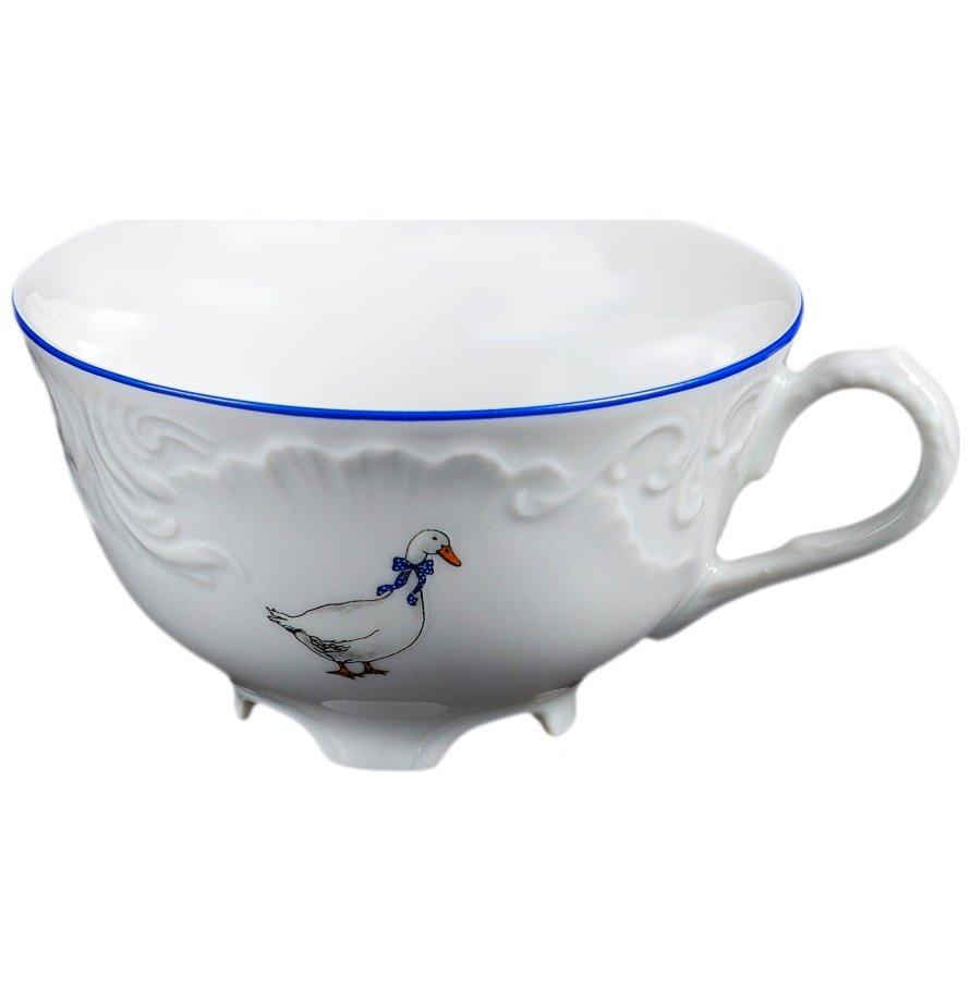 Чашка чайная 220 мл  Рококо Гуси