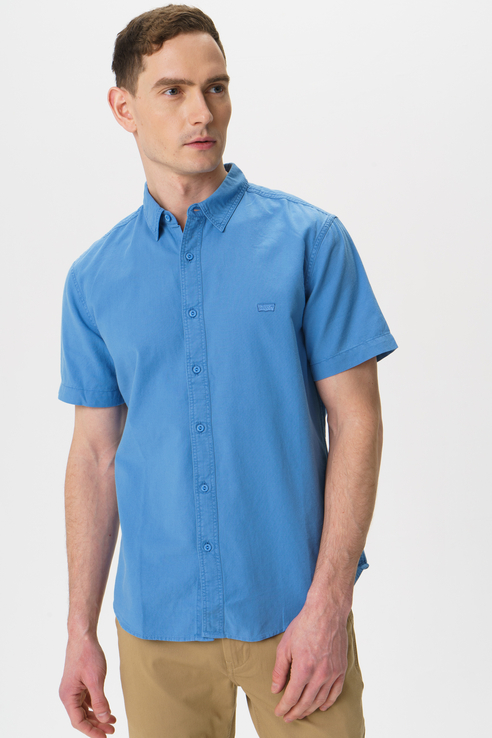 Рубашка мужская Levi's 8662300030 голубая 52
