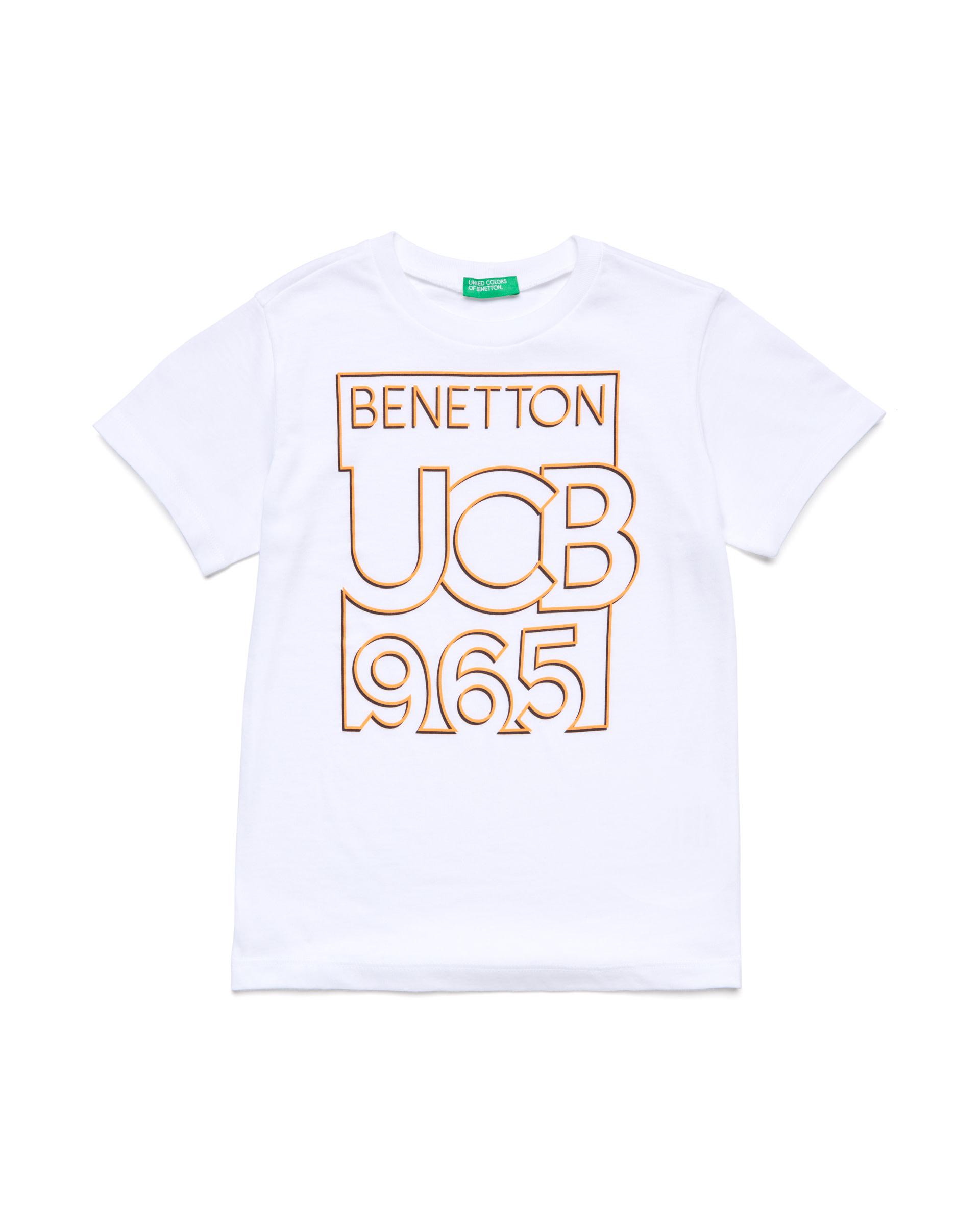 Купить 20P_3096C14PI_101, Футболка для мальчиков Benetton 3096C14PI_101 р-р 110, United Colors of Benetton, Футболки для мальчиков