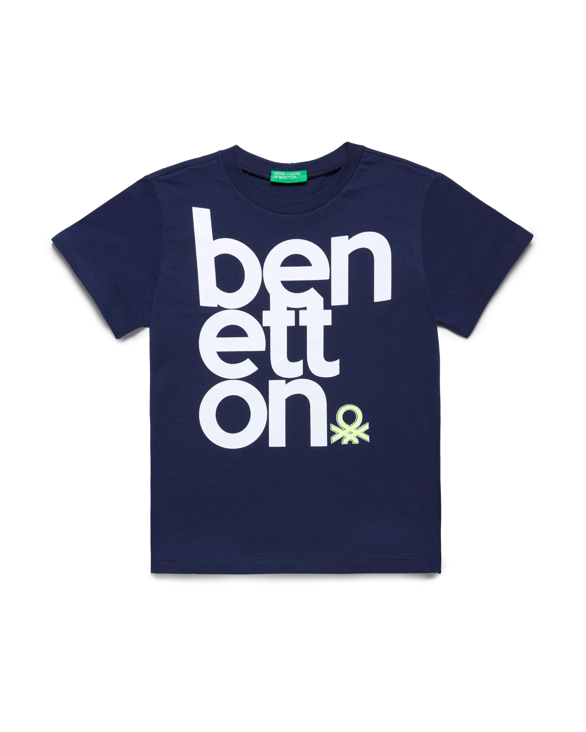 Купить 20P_3096C14PI_252, Футболка для мальчиков Benetton 3096C14PI_252 р-р 128, United Colors of Benetton, Футболки для мальчиков
