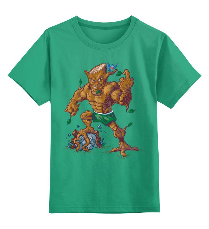 Детская футболка Printio Зомбяшка цв.зеленый р.164 0000003455662 по цене 990