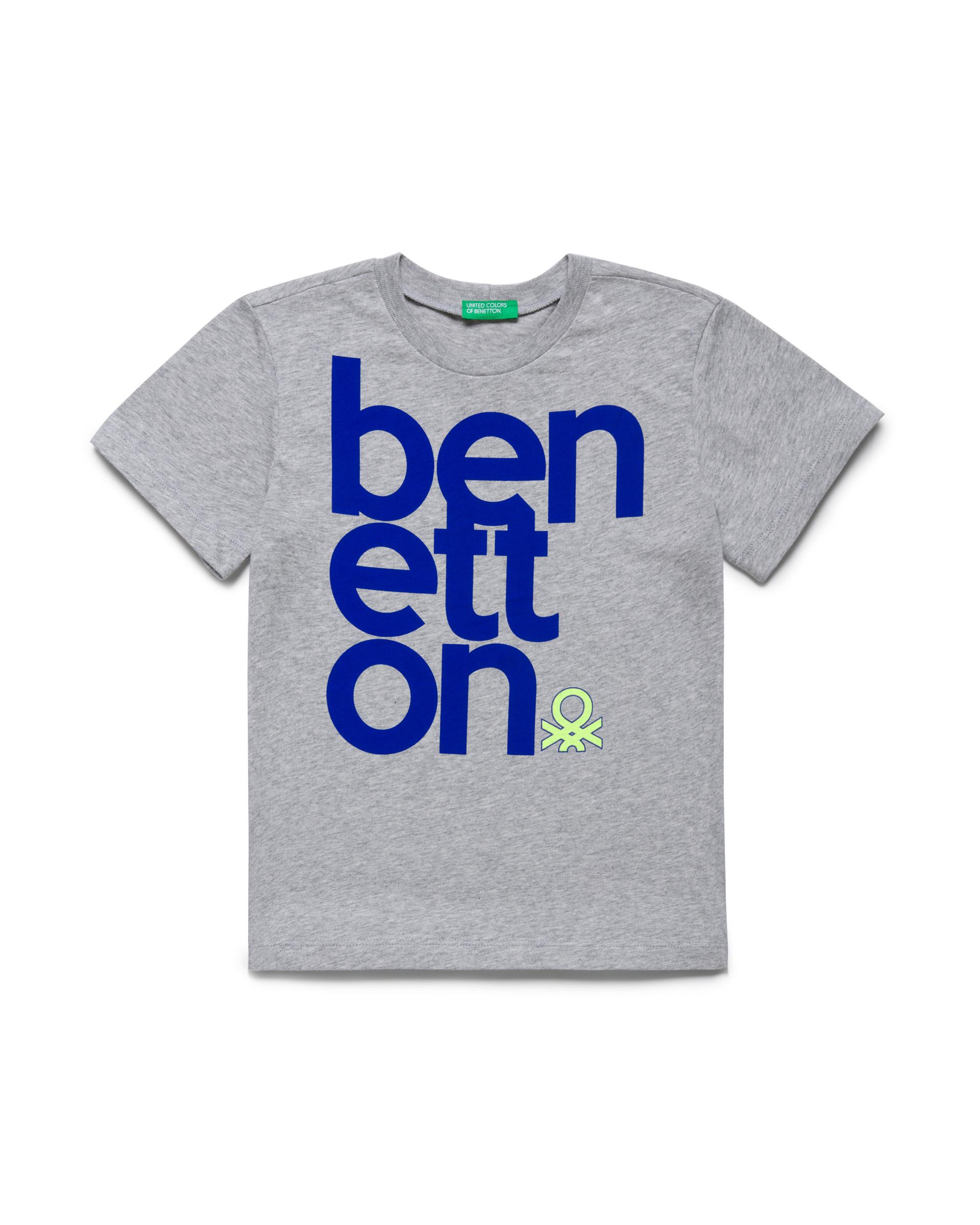 Купить 20P_3096C14PI_501, Футболка для мальчиков Benetton 3096C14PI_501 р-р 110, United Colors of Benetton, Футболки для мальчиков
