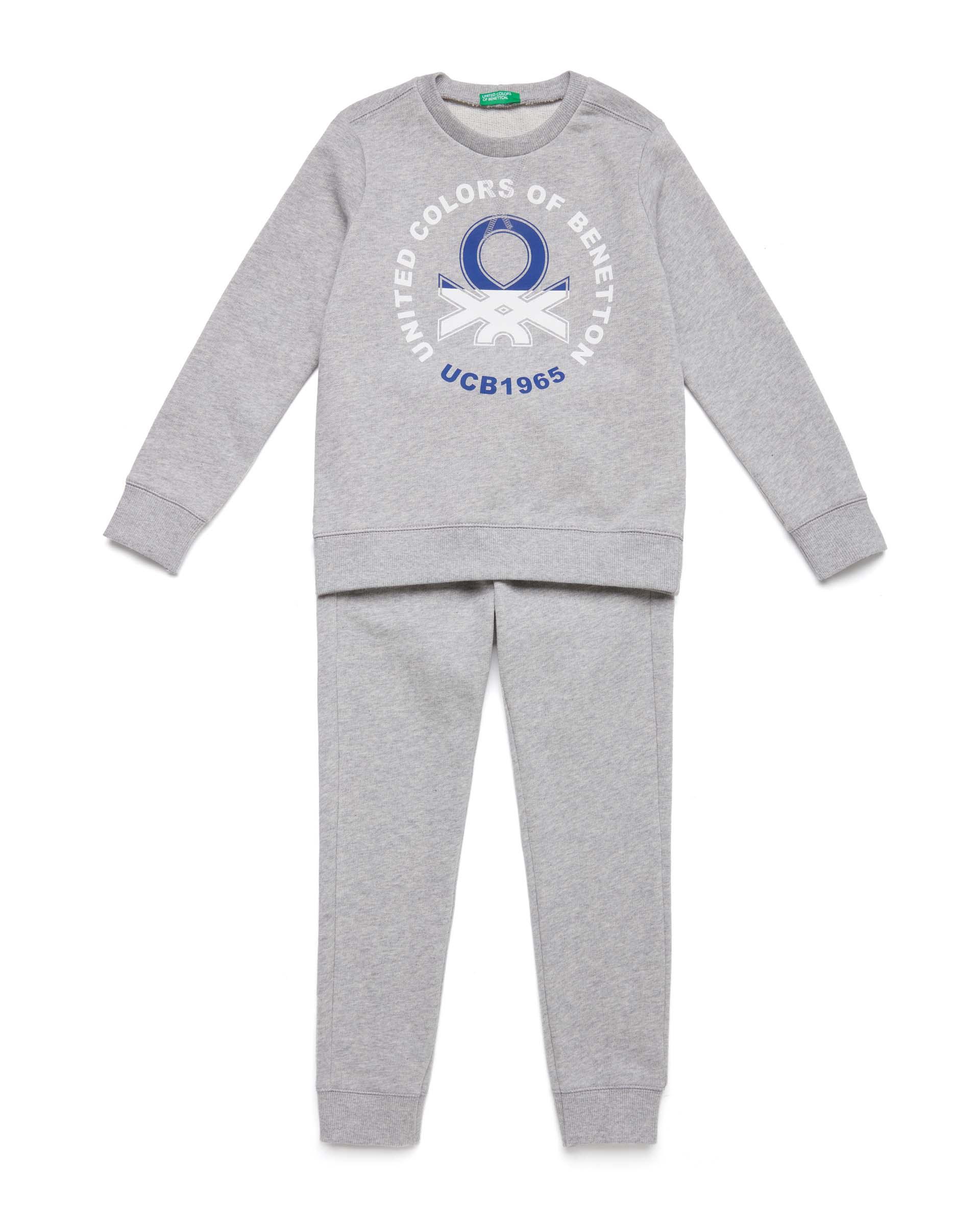 Купить 20P_3J68Z11PI_501, Спортивный костюм для мальчиков Benetton 3J68Z11PI_501 р-р 92, United Colors of Benetton, Спортивные костюмы для мальчиков
