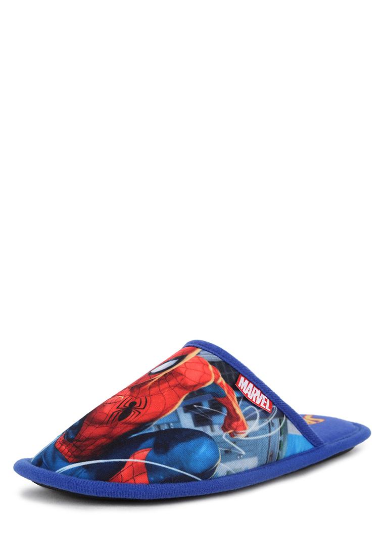 Тапочки детские Spider Man, цв. синий р.32