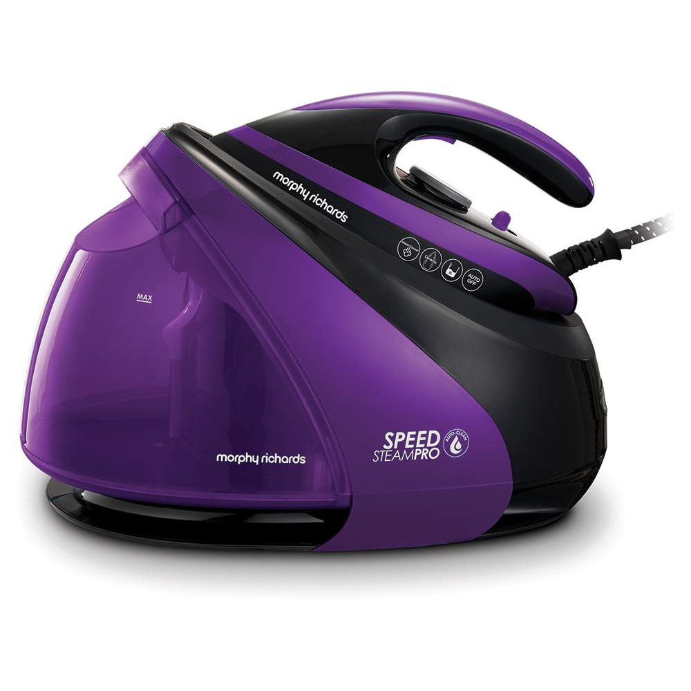 Парогенератор Morphy Richards Speed Steam Black/Purple фото
