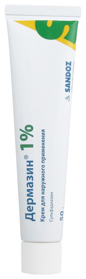 Дермазин крем для наруж.прим.1% туба 50 г