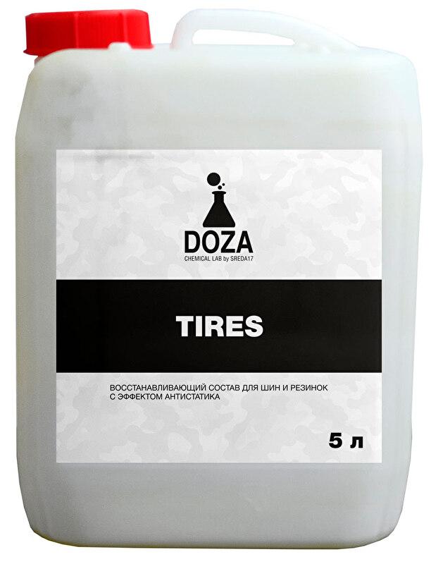 Восстанавливающий кондиционер для шин DOZA Tires 5л