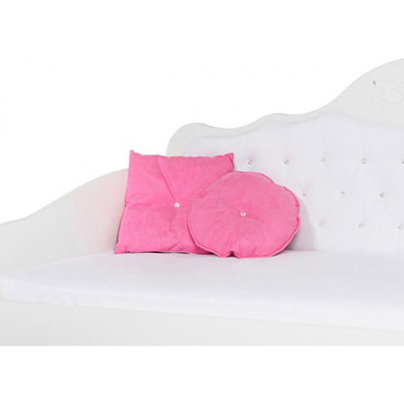 Подушки Комплект ABC-KING: 2 круглые розовые