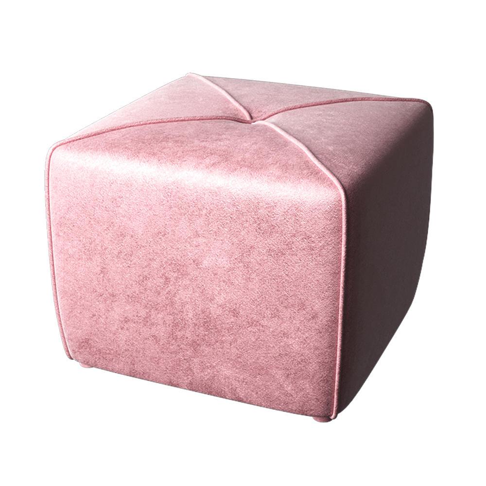 Пуф Ника Розовый Велюр