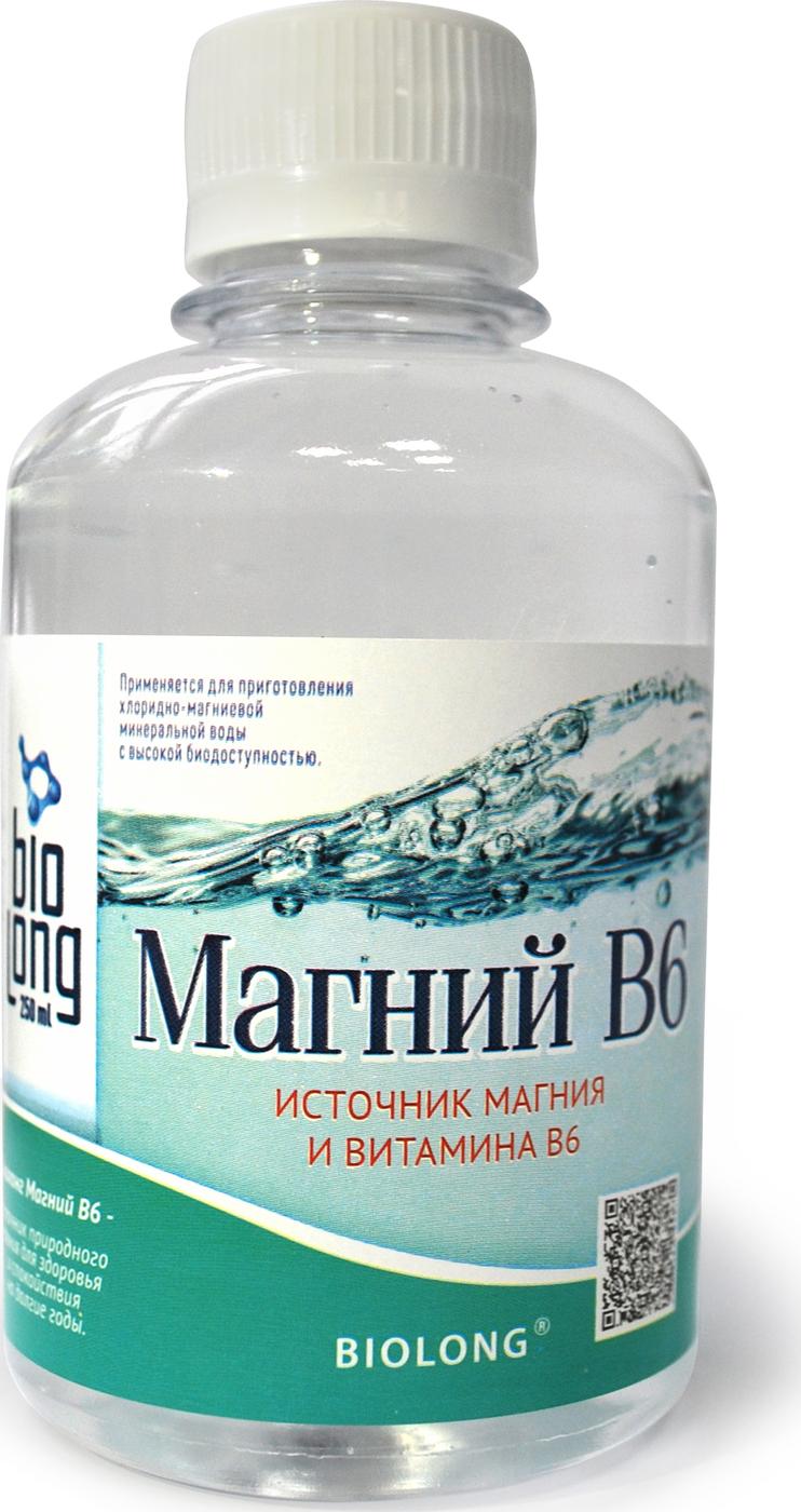 Магний В6 Biolong питьевой минеральный комплекс курс
