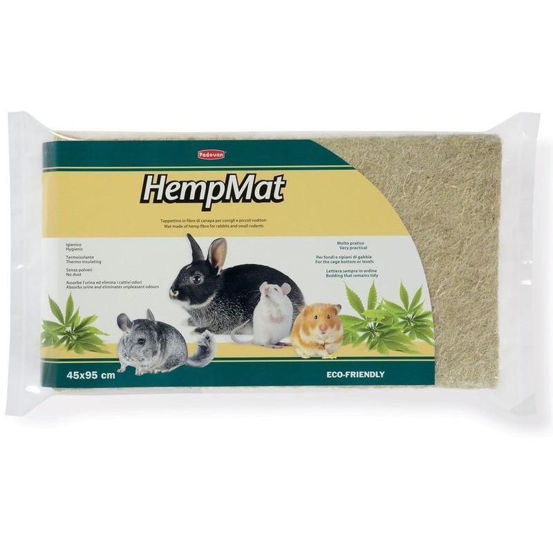 Наполнитель для грызунов Padovan Hemp Mat коврик