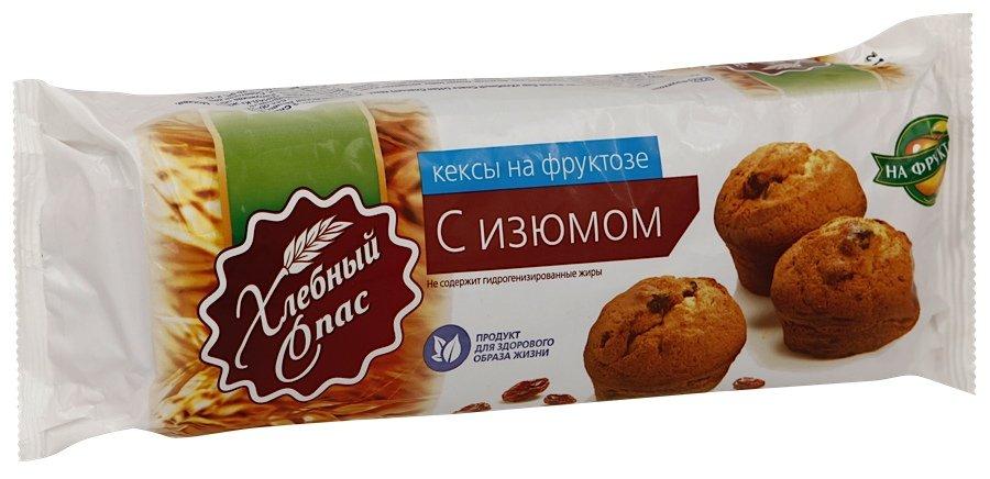 Кекс хлебный спас с изюмом 300 г п/п диал-к россия
