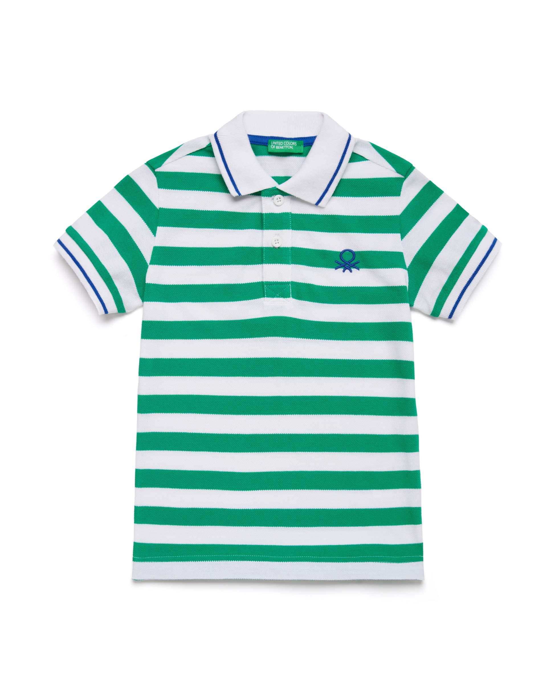 Купить 20P_3NQ7C3124_904, Поло-пике для мальчиков Benetton 3NQ7C3124_904 р-р 92, United Colors of Benetton, Кофточки, футболки для новорожденных