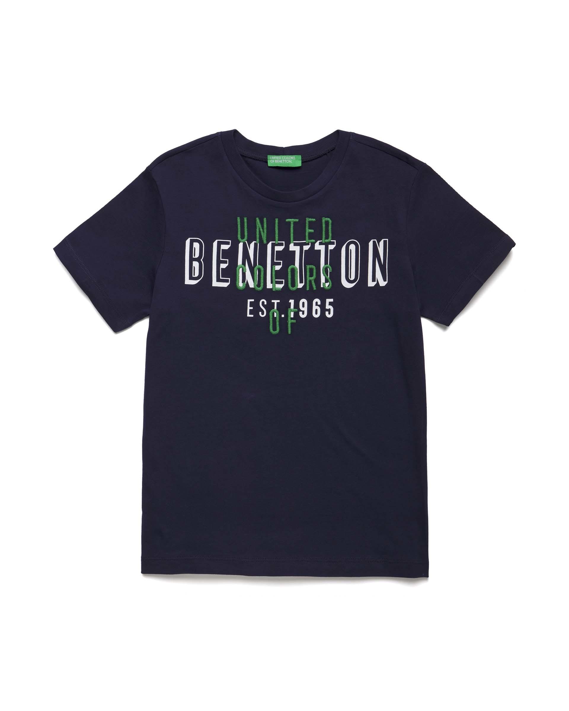 Купить 20P_3I1XC14II_252, Футболка для мальчиков Benetton 3I1XC14II_252 р-р 80, United Colors of Benetton, Кофточки, футболки для новорожденных