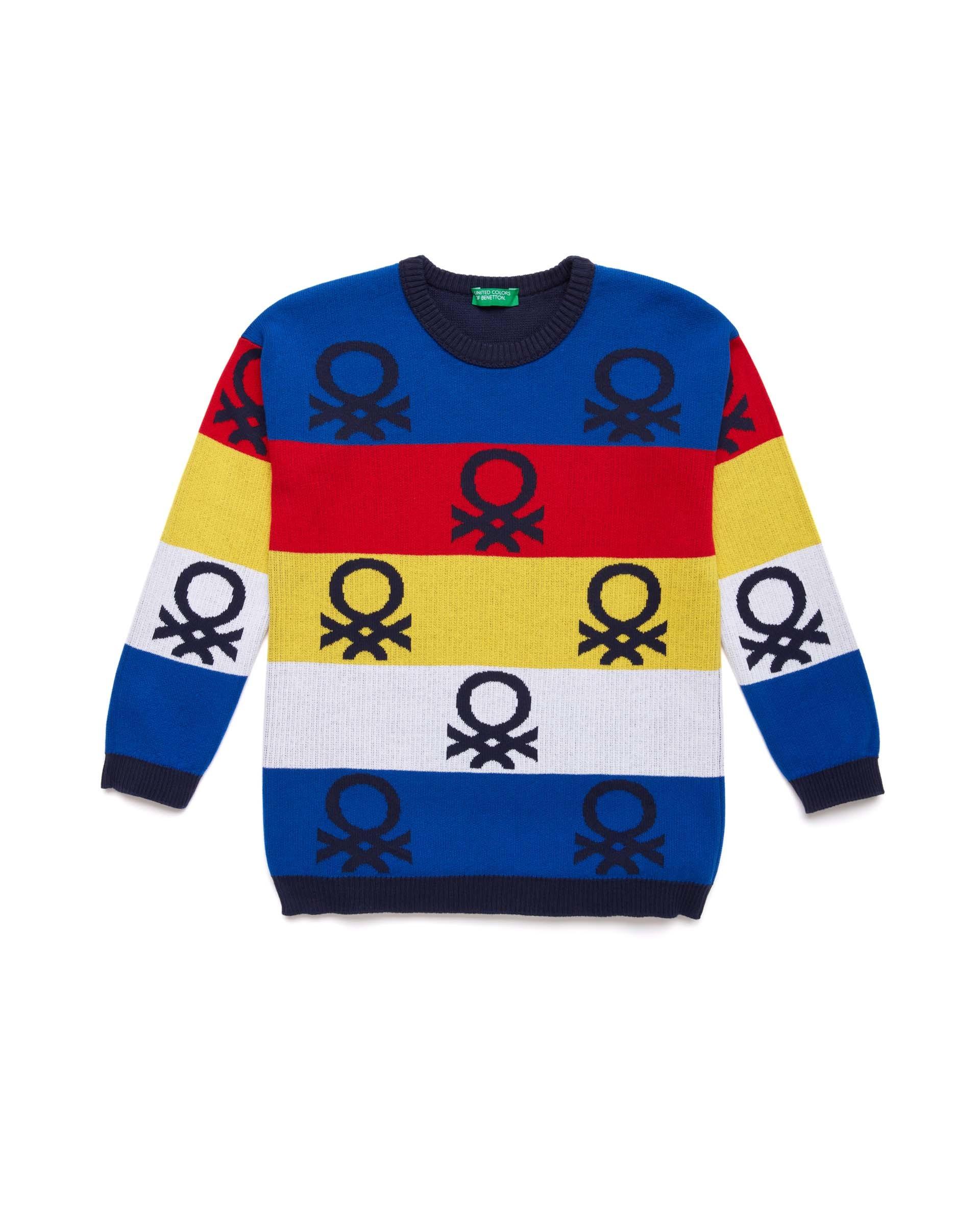 Купить 20P_1094Q1901_901, Джемпер для мальчиков Benetton 1094Q1901_901 р-р 152, United Colors of Benetton, Джемперы для мальчиков