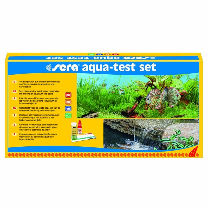 Набор тестов для воды Sera AQUA-TEST-SET (рН, GH, KH, NO3) фото