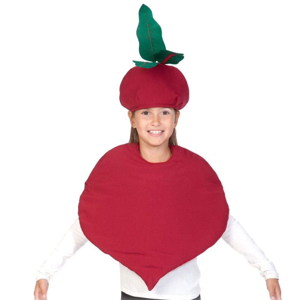 Карнавальный костюм Карнавалофф Овощ, цв. бордовый р.104