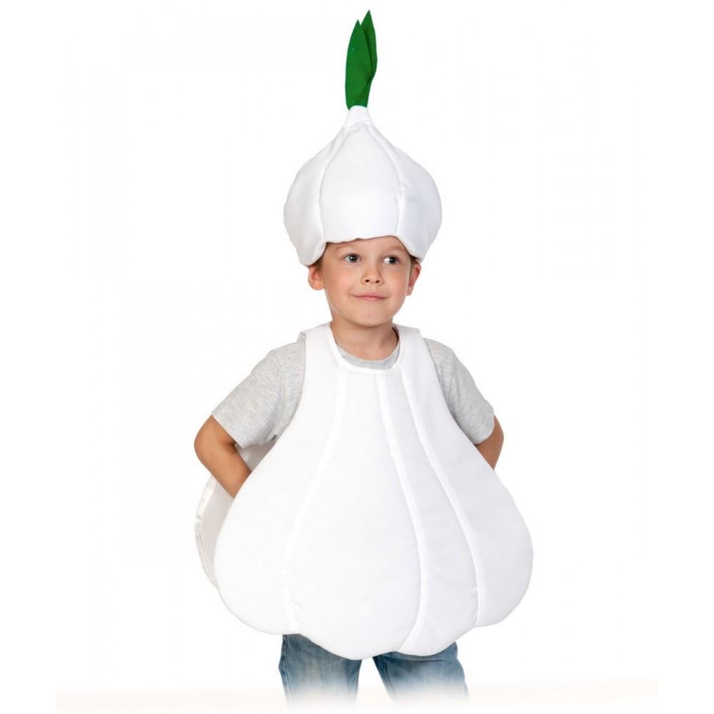 Карнавальный костюм Карнавалофф Овощ, цв. серый р.104