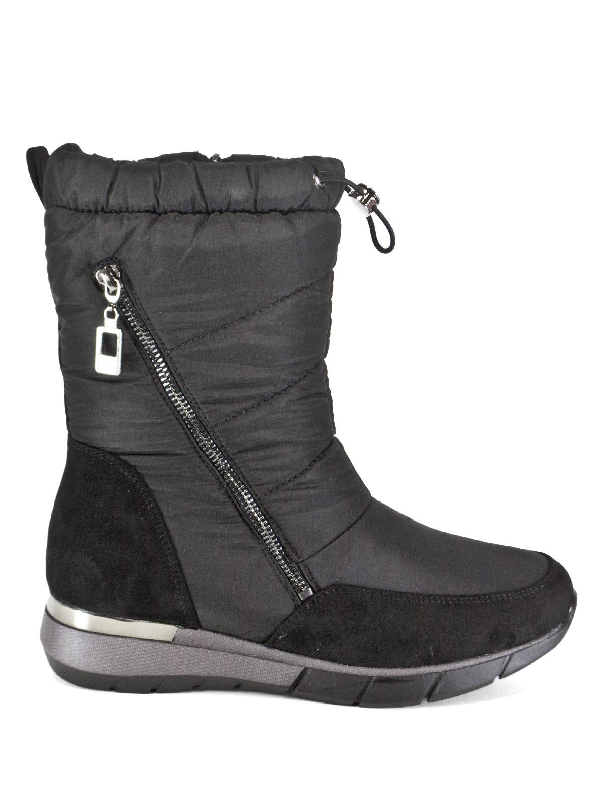 Дутики женские Brado 95614 черные 40 RU