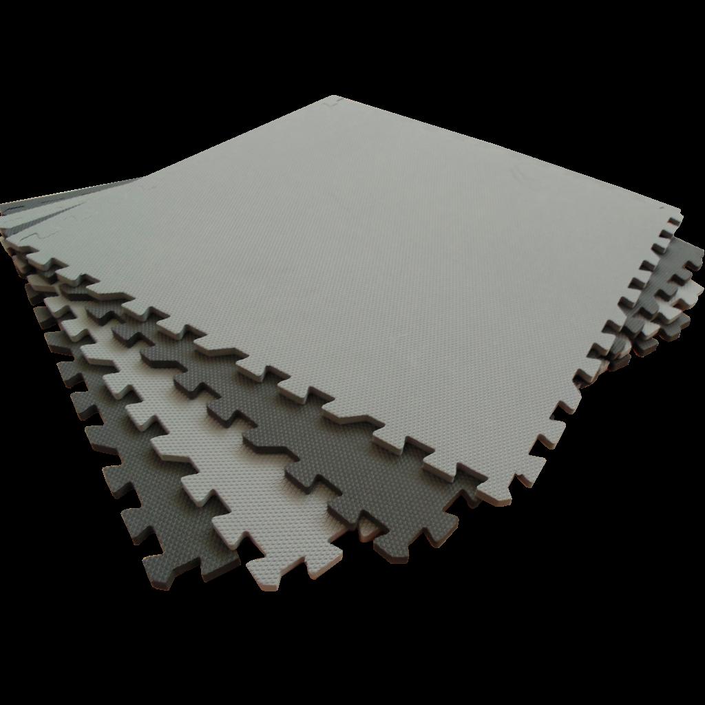 Развивающий коврик Eco Cover 60*60 см черно