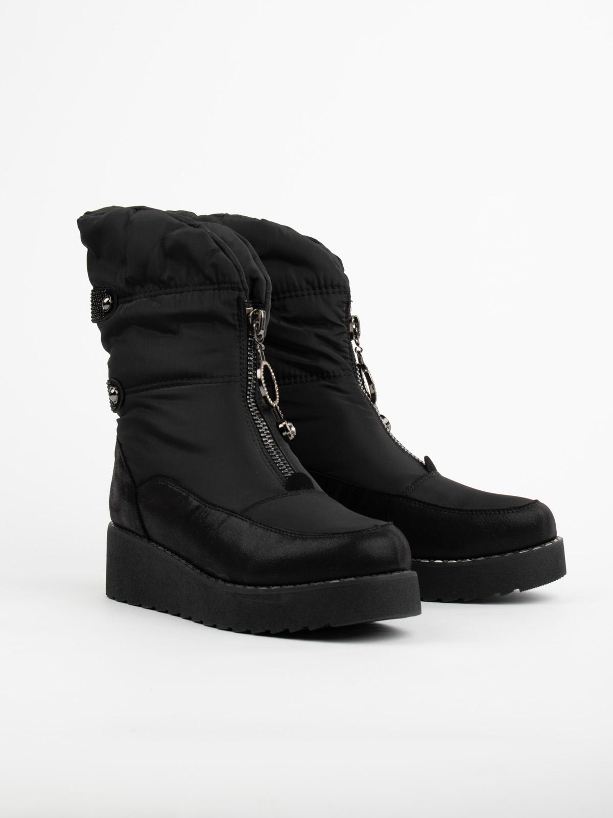 Дутики женские Brado 95406 черные 41 RU
