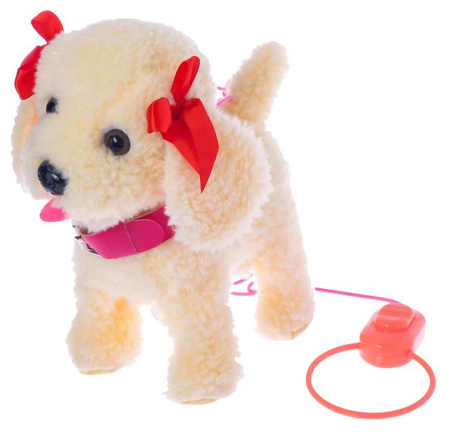 Интерактивная собака «Любимый щенок», ходит, лает, поет песенку, виляет хвостом Забияка по цене 2 340