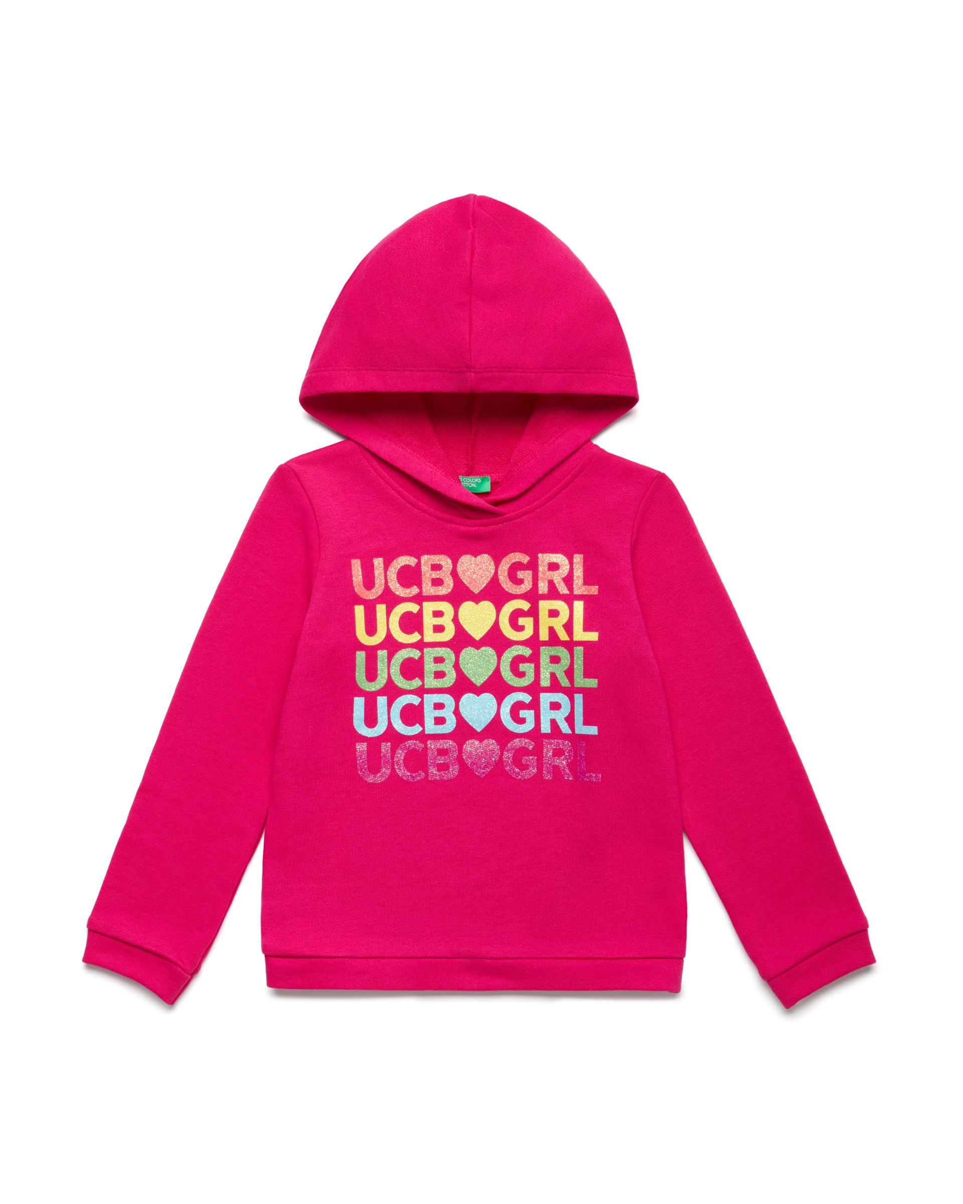 Купить 20P_3J68C2171_2L3, Толстовка для девочек Benetton 3J68C2171_2L3 р-р 110, United Colors of Benetton, Толстовки для девочек