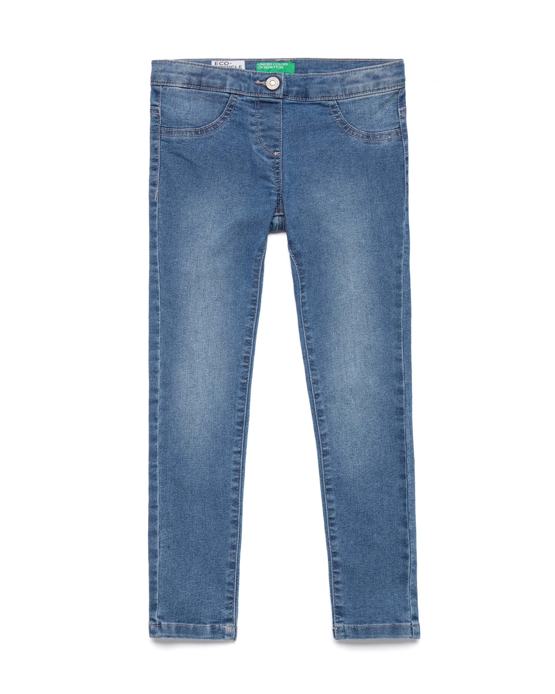 Купить 20P_4RW457LM0_902, Джинсы для девочек Benetton 4RW457LM0_902 р-р 128, United Colors of Benetton