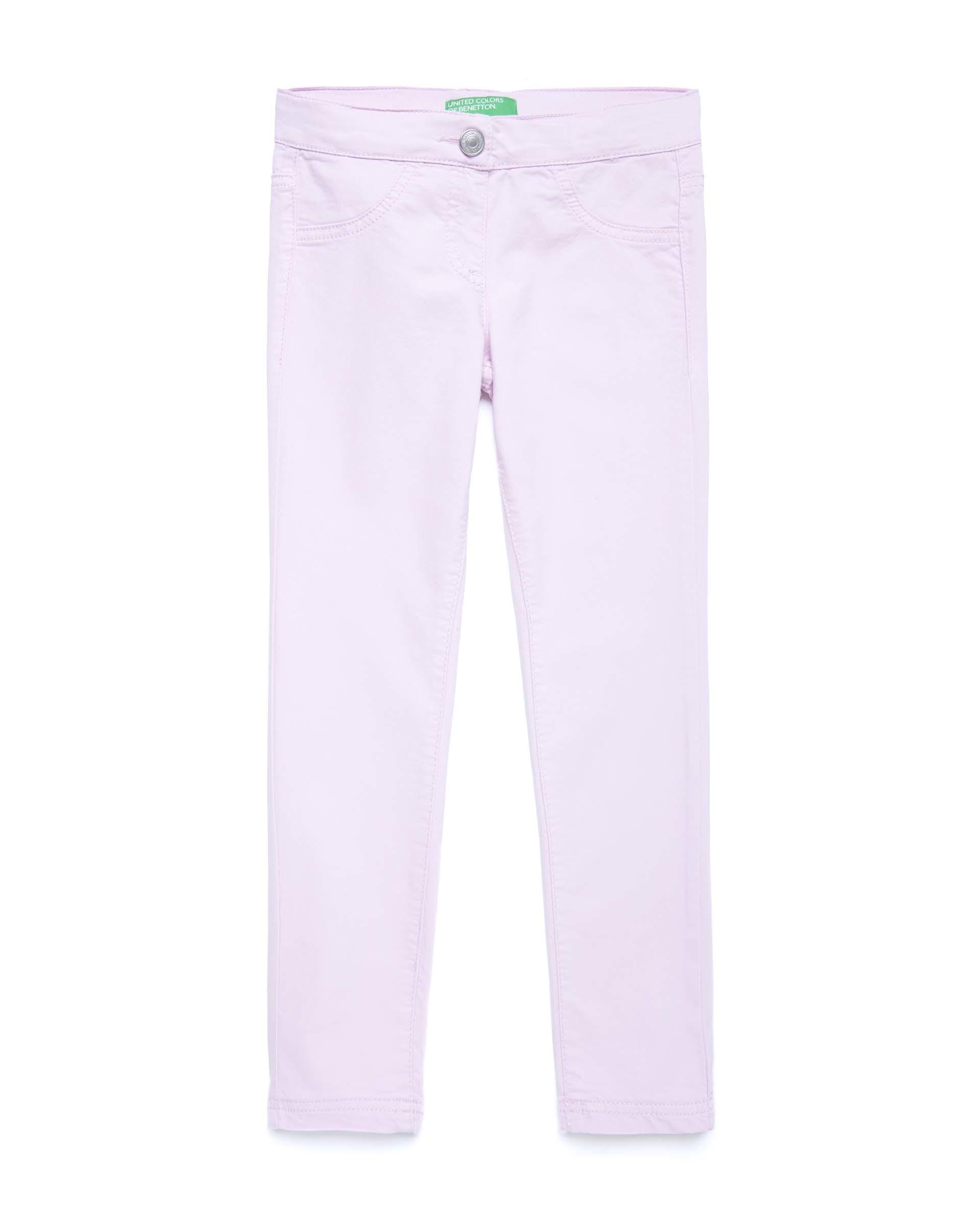 Купить 20P_4U4057I20_07M, Эластичные брюки для девочек Benetton 4U4057I20_07M р-р 92, United Colors of Benetton, Шорты и брюки для новорожденных