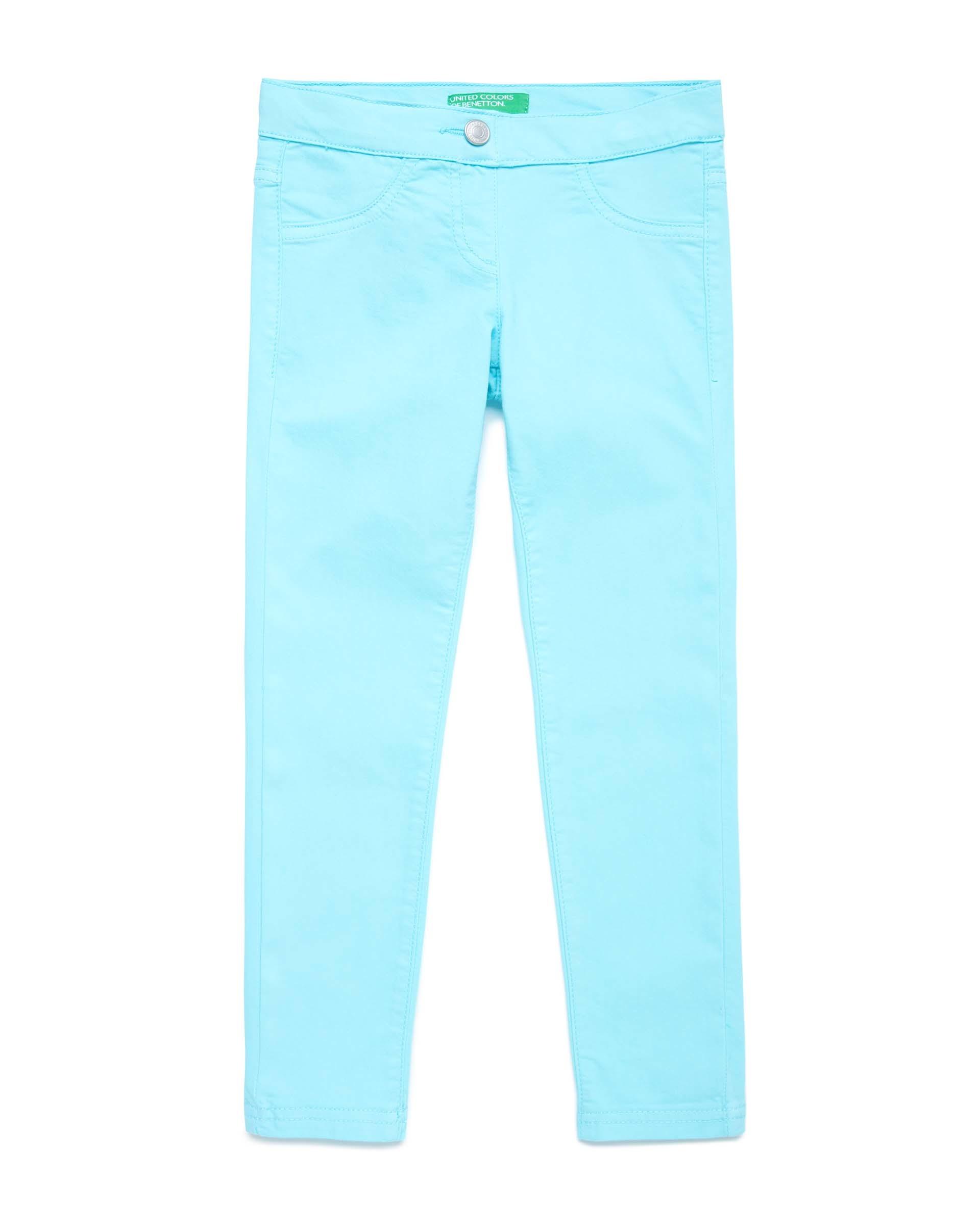 Купить 20P_4U4057I20_0Z8, Эластичные брюки для девочек Benetton 4U4057I20_0Z8 р-р 80, United Colors of Benetton, Шорты и брюки для новорожденных