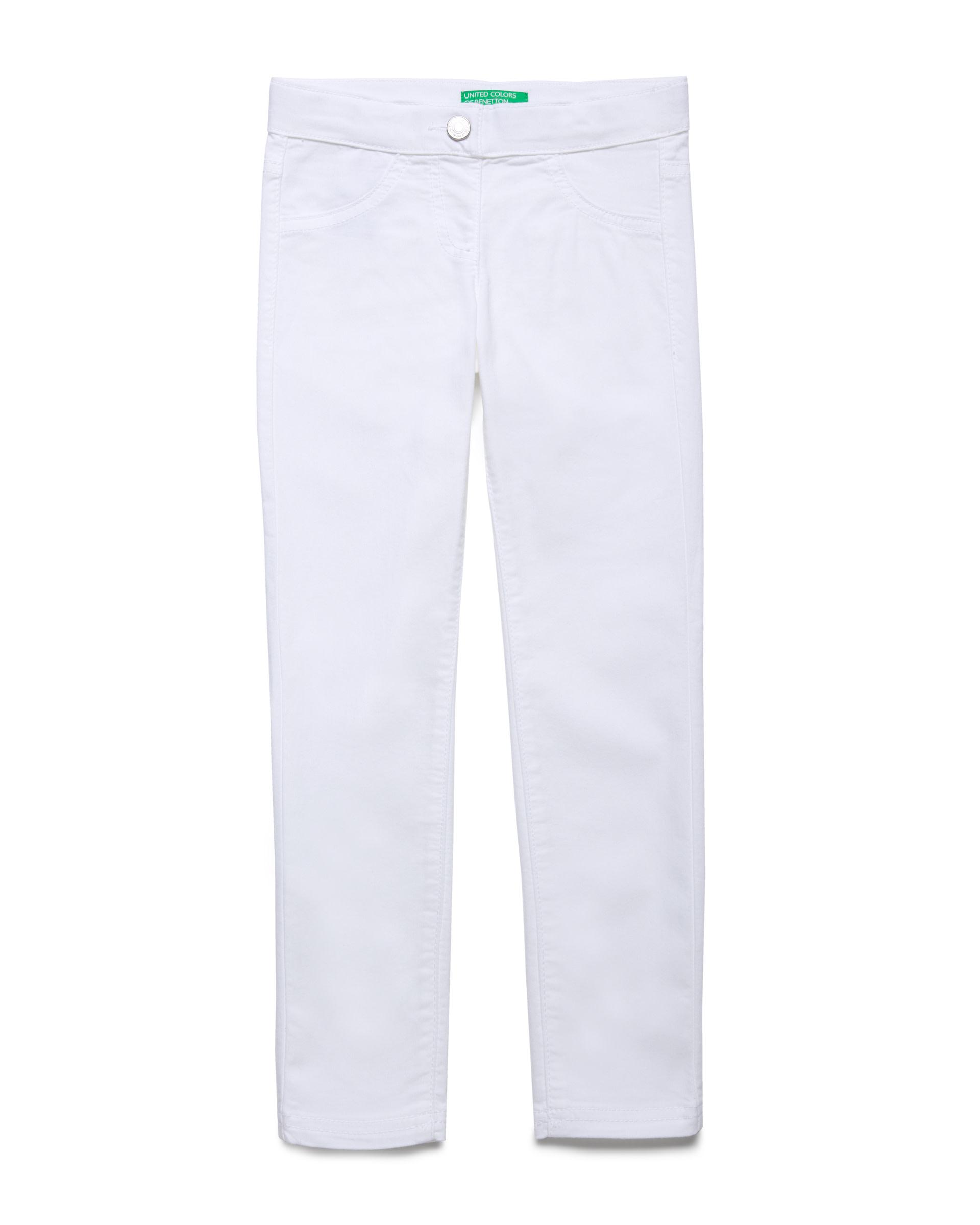 Купить 20P_4U4057I20_101, Эластичные брюки для девочек Benetton 4U4057I20_101 р-р 92, United Colors of Benetton, Шорты и брюки для новорожденных
