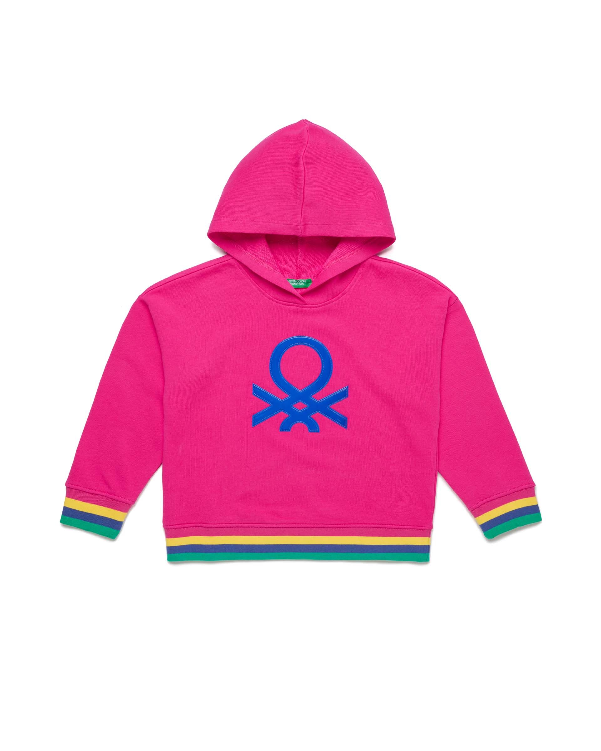 Купить 20P_3J68C2175_2L3, Толстовка для девочек Benetton 3J68C2175_2L3 р-р 170, United Colors of Benetton, Толстовки для девочек