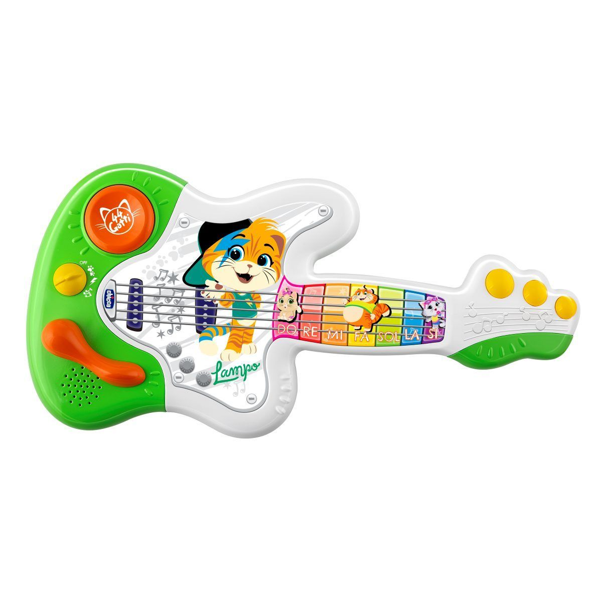 Игрушка музыкальная Chicco Гитара 44 Котенка