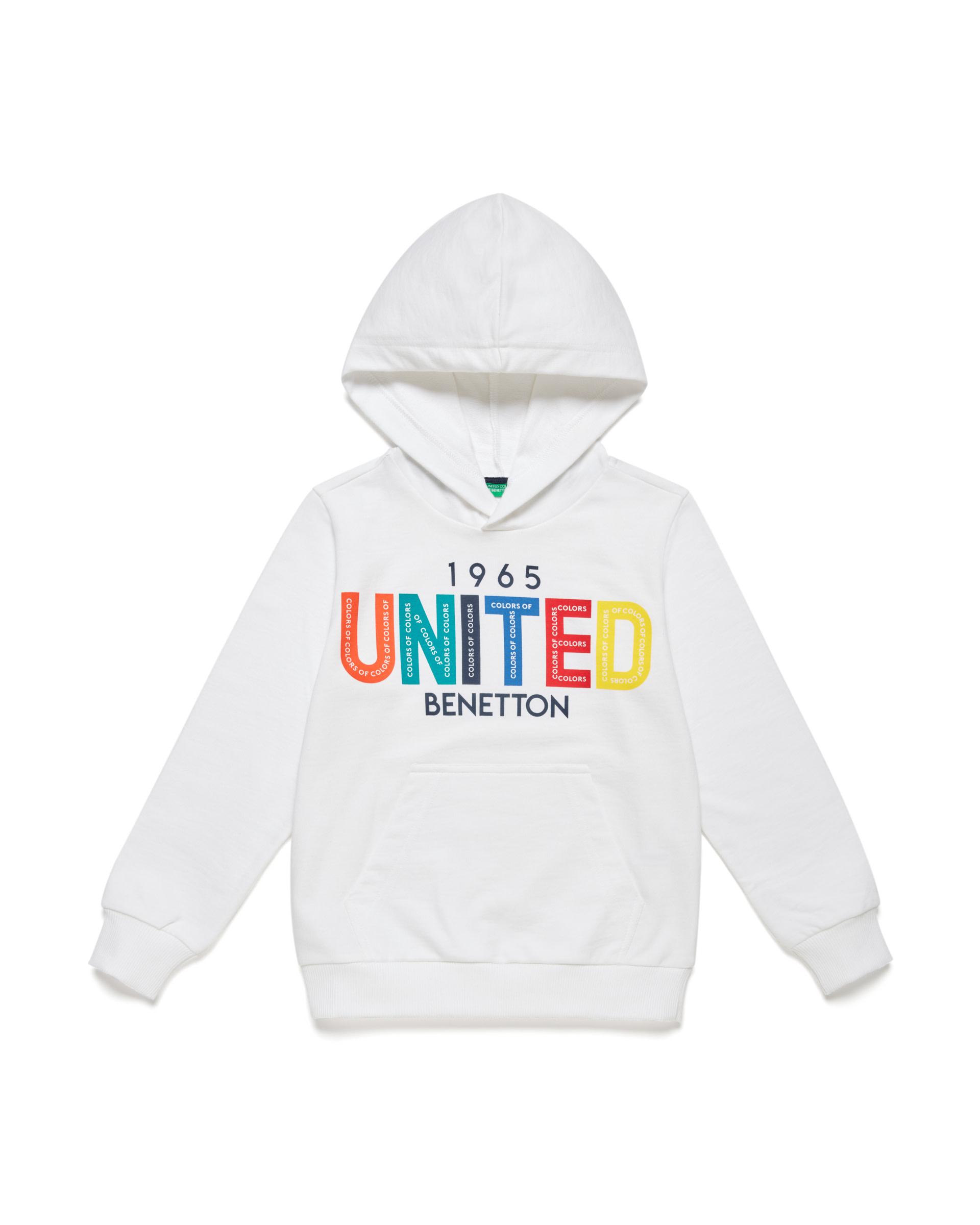 Купить 20P_3BC1C2165_101, Толстовка для мальчиков Benetton 3BC1C2165_101 р-р 140, United Colors of Benetton, Толстовки для мальчиков