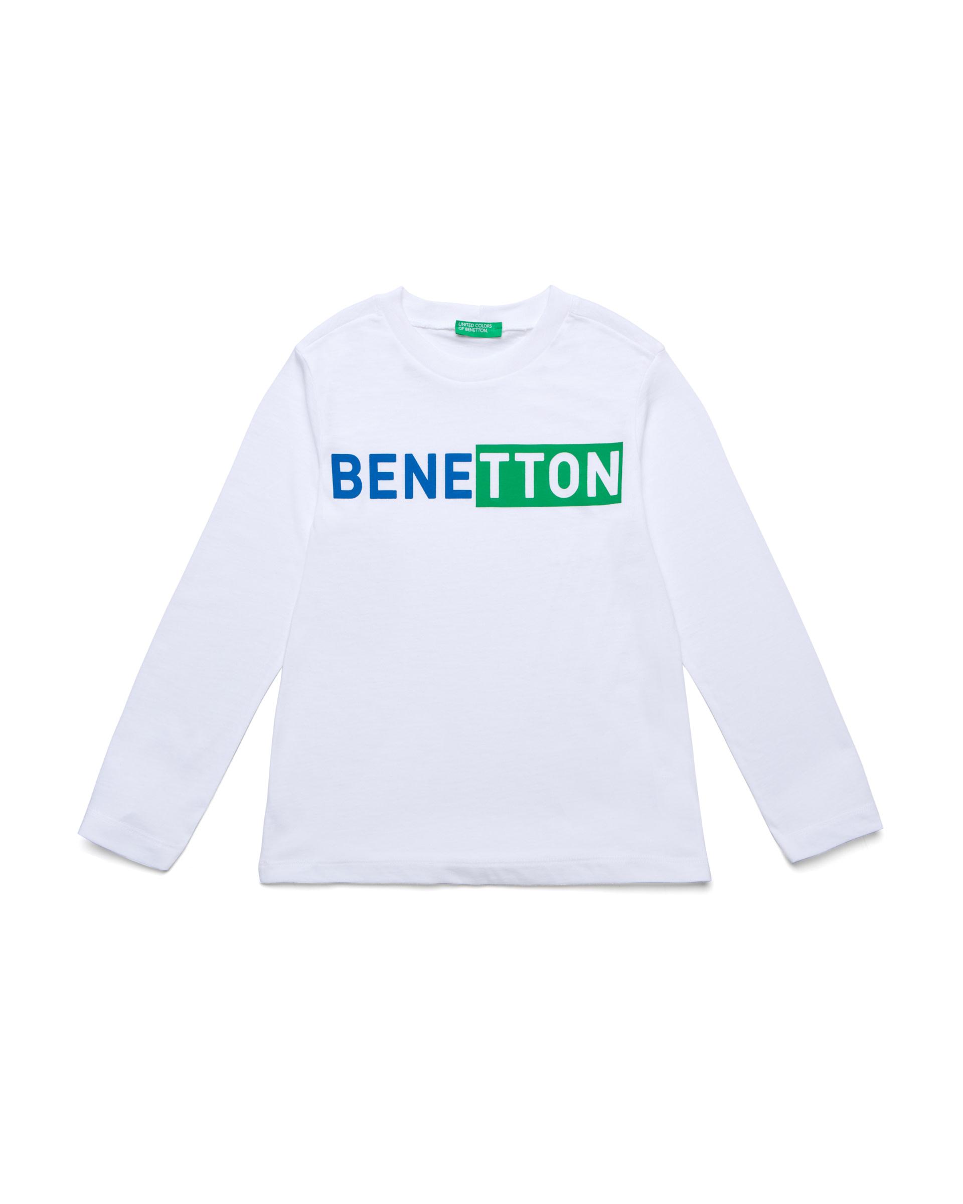 Купить 20P_3I1XC14IL_101, Футболка для мальчиков Benetton 3I1XC14IL_101 р-р 140, United Colors of Benetton, Футболки для мальчиков