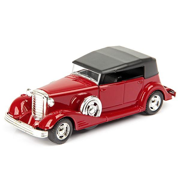 Машина металлическая Hoffmann инерционная Retro Luxury цвет красный