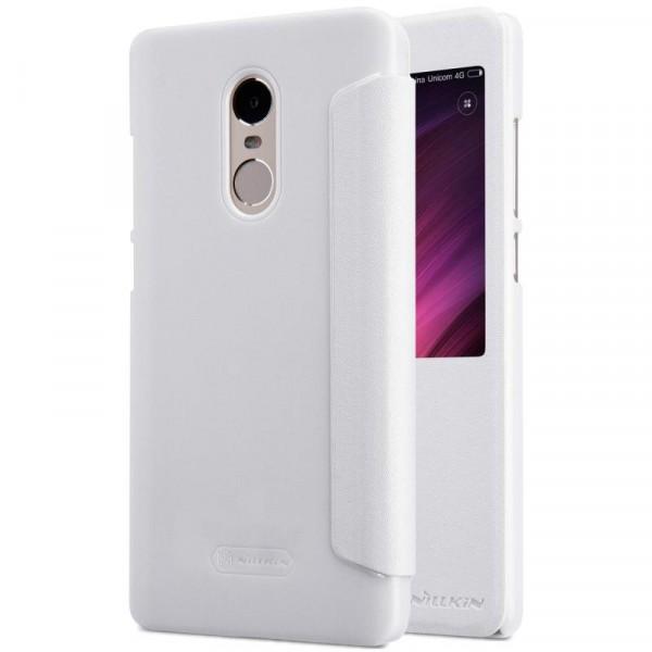 Чехол Nillkin Sparkle Series для Xiaomi Redmi Note 4X / Note 4 (SD) (White)